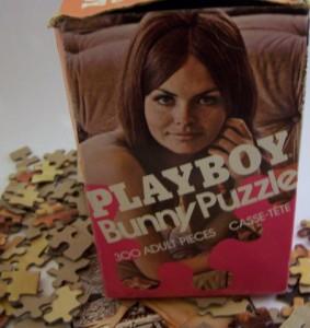 Playboy Bunny Puzzle Box - 1976 - 2
