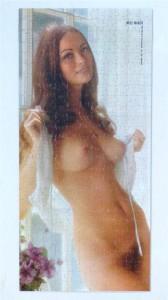 Playboy Playmate Puzzle APO123 Miss March Bonnie Large 1968 3