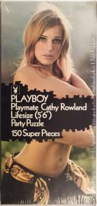 Playboy Puzzle Lifesize 1000AP193 1971 Playmate Cathy Rowland 1