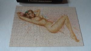 Playboy Vargas Jigsaw Puzzle AP175 1971 3