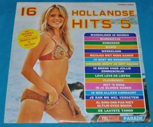16HH05a Telstar Parade - 16 Hollandse Hits 5 - TPA 89 531 1