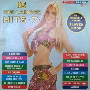 16HH07a Telstar Parade - 16 Hollandse Hits 7 - TPA 89 560 1973 1