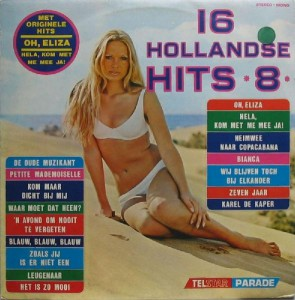 16HH08a Telstar Parade - 16 Hollandse Hits 8 - TPA 89 585 1
