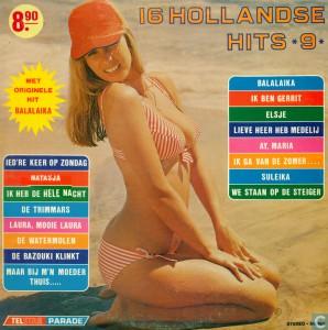16HH09a Telstar Parade - 16 Hollandse Hits 9 - TPA 89 590 1973 1