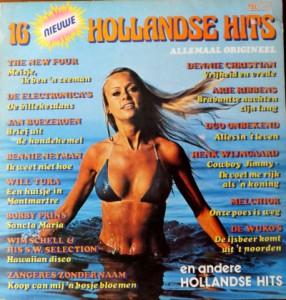 16HH16a Telstar - 16 nieuwe Hollandse Hits - TAR 14965 TL 1980 1