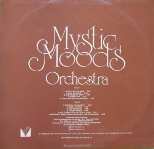 The Mystic Moods Orchestra Vol 2 - Algo Más Que Música - Erogenous - SP - Bocaccio Records - BS-32113 2
