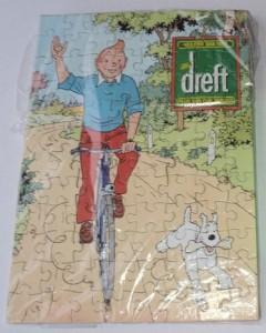 Reclame puzzel - Dreft - Kuifje 4