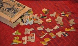 Reclame puzzle - FRICO puzzle 3