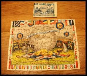 Reclame puzzle - FRICO puzzle 4