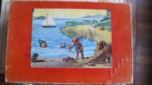 Simplex 619-2-12 - Kasperl aan zee - Haan op de kraan 1