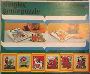 Simplex 685 - Juniorpuzzle - Locomotief A