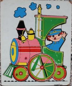 Simplex 685 - Juniorpuzzle - Locomotief B