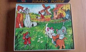 Jumbo Puzzel 1312 WD Aristokatten 2